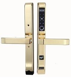 Khóa cửa nhôm Hilux Hi-86SDL vàng